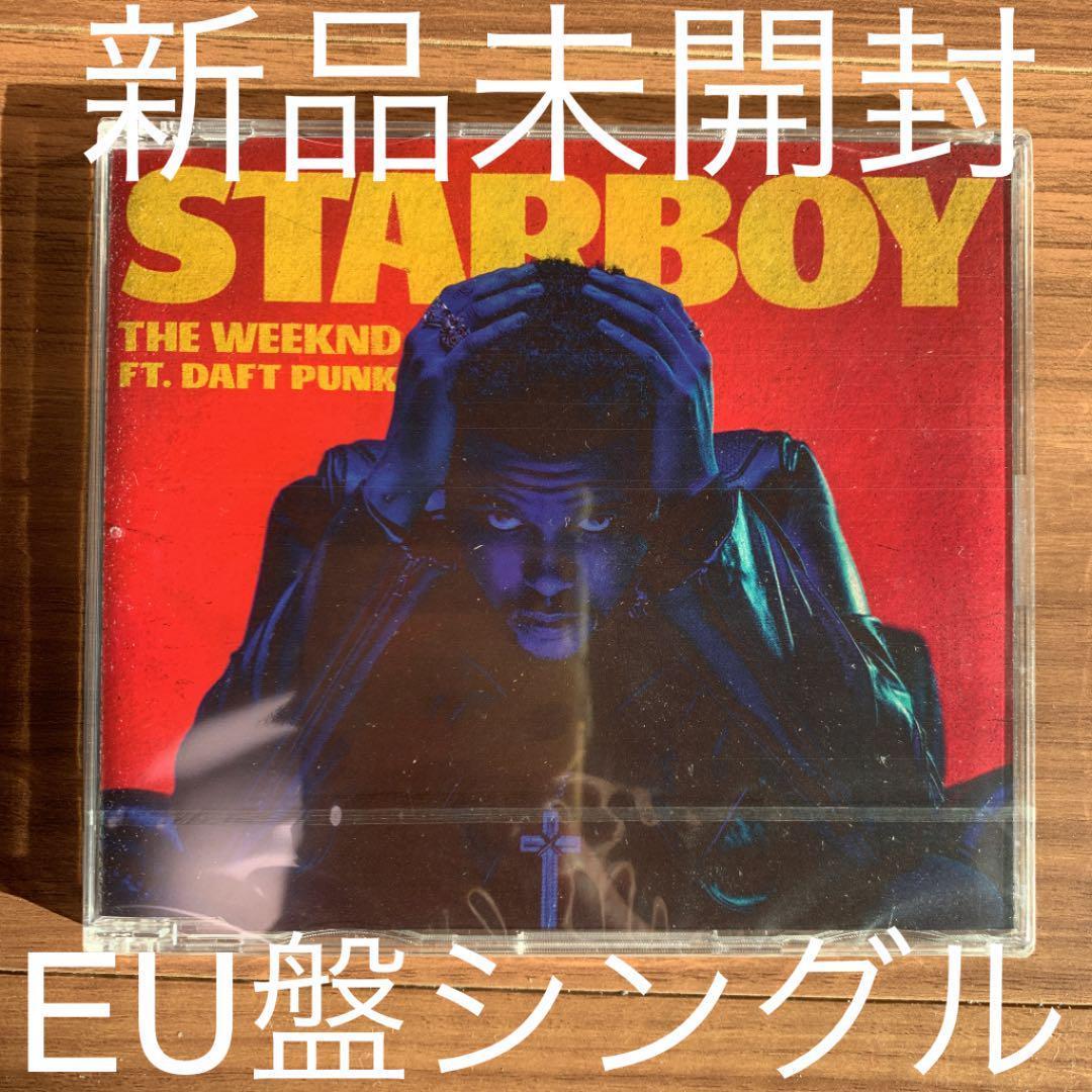 THE WEEKND ザ・ウィークエンド Starboy EU盤シングル 新品未開封
