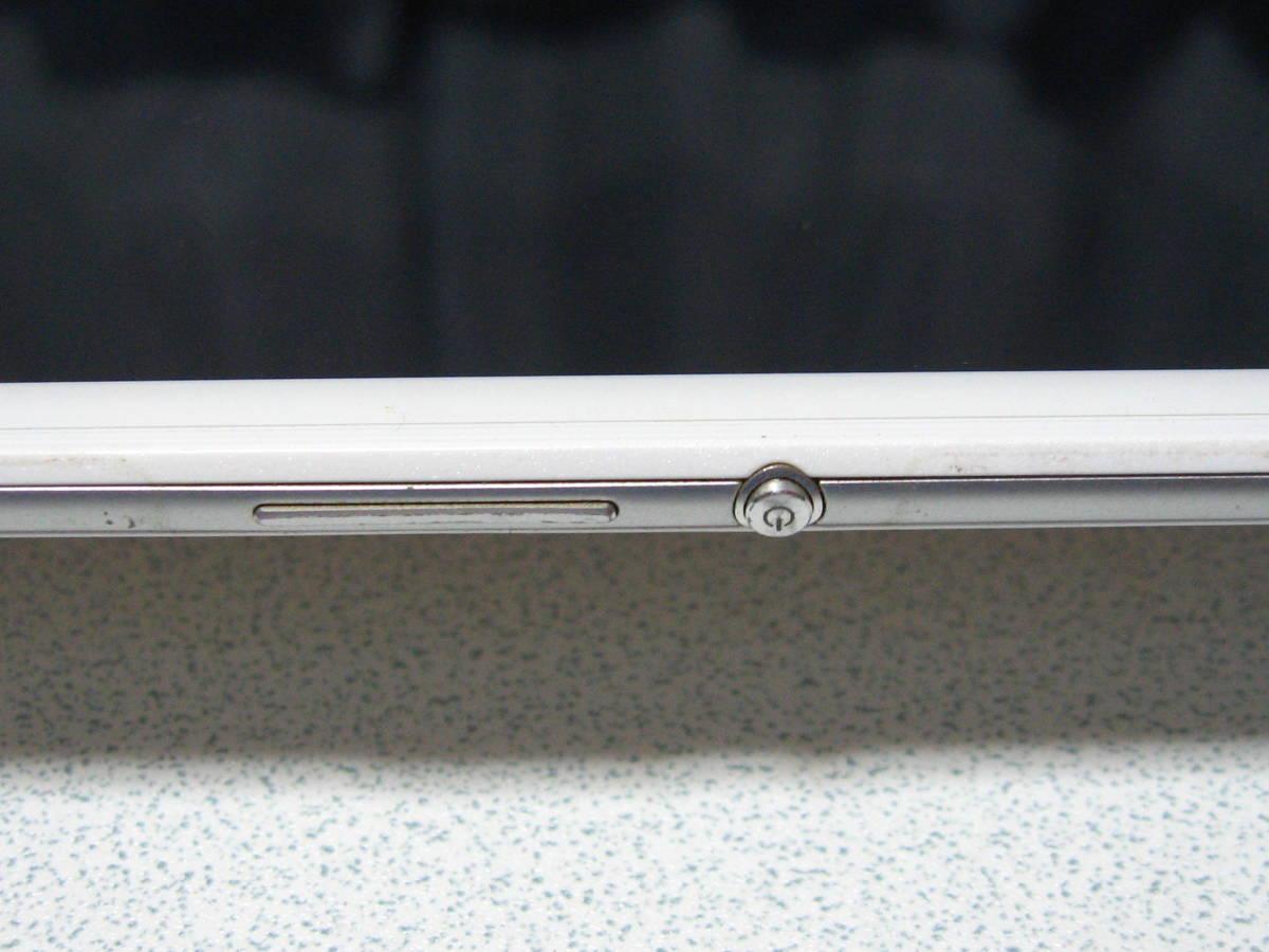 SONY XPERIA エクスぺリア Z3 Tabret Compact SGP612 8インチ 32GB WiFiモデル 白 & 純粋カバー付き☆_画像6
