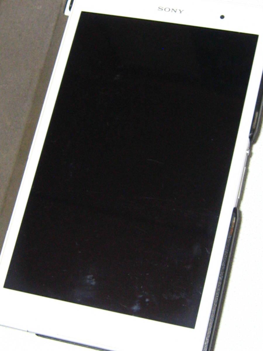 SONY XPERIA エクスぺリア Z3 Tabret Compact SGP612 8インチ 32GB WiFiモデル 白 & 純粋カバー付き☆_画像2