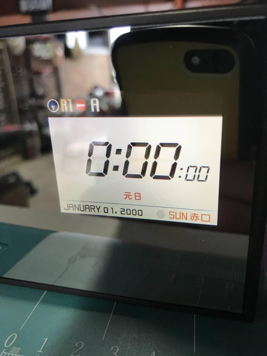A-227 ◇ユピテル Super Cat レーダー探知機 MR977si◇ジャンク品 送料520円~_画像2