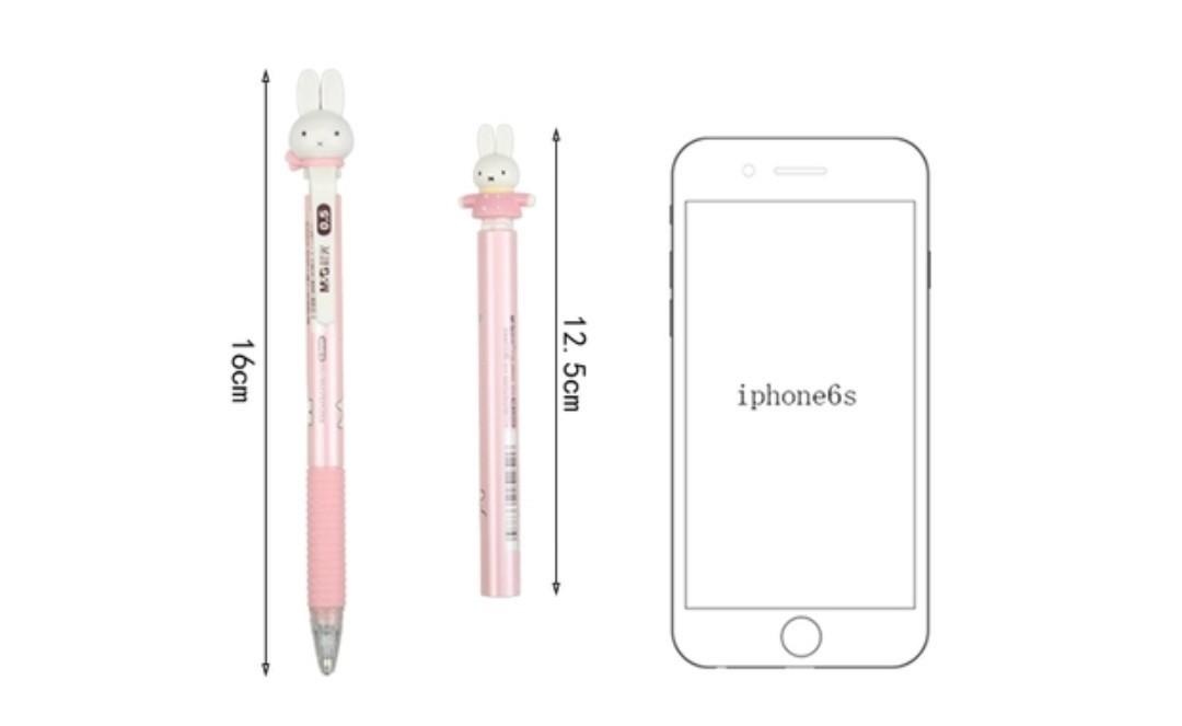 海外限定 ミッフィーシャープペンシルと替え芯 ピンク
