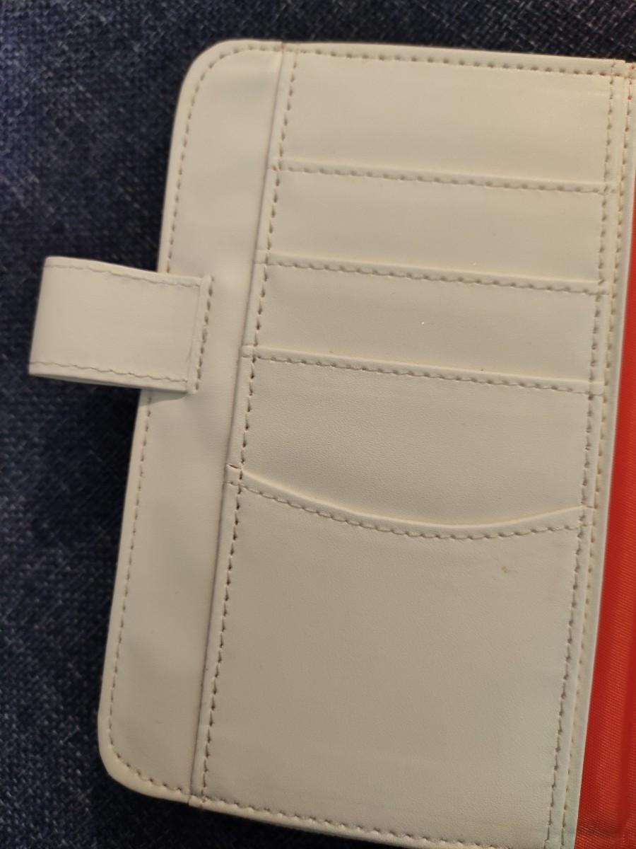 海外限定 ミッフィー 刺繍 手帳カバー A6