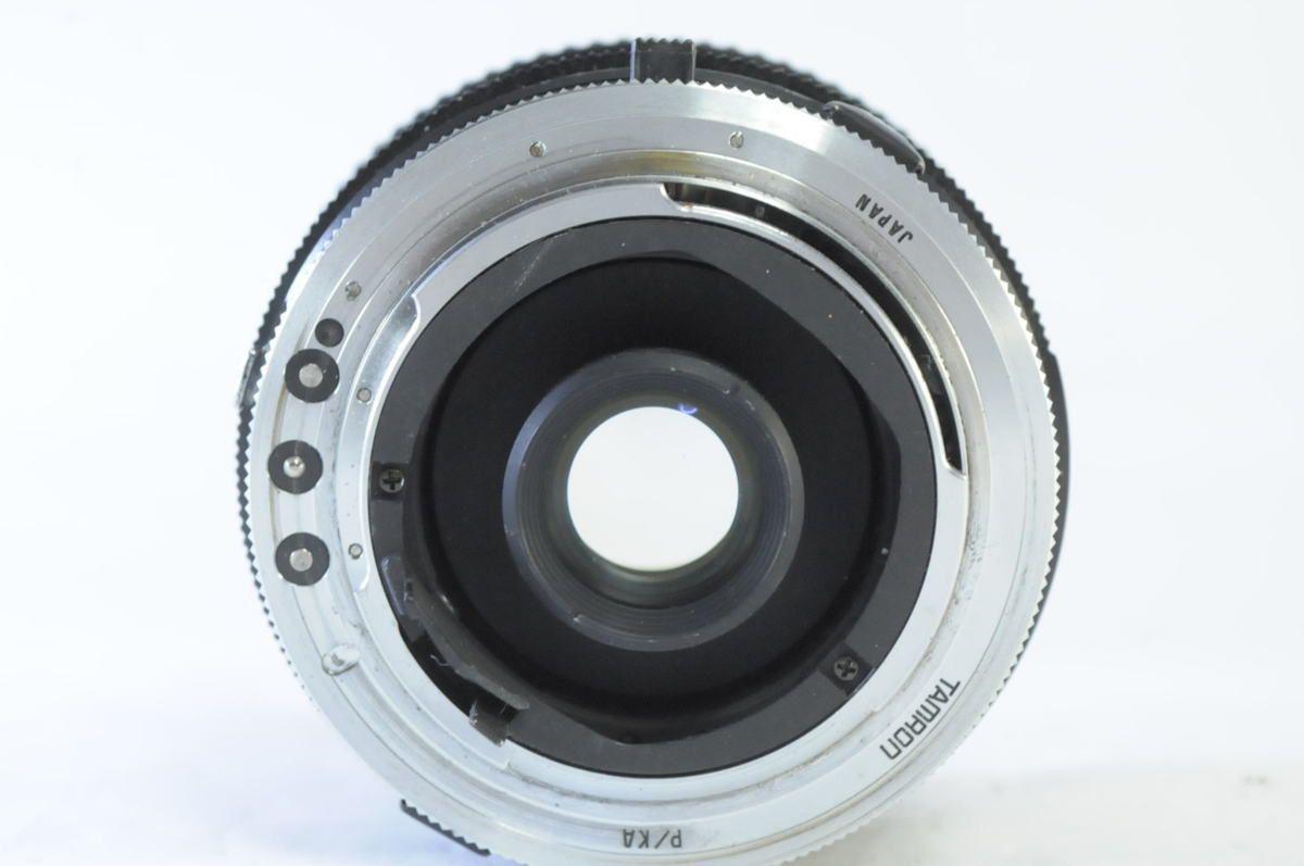 TAMRON SP 17mm F3.5+アダプトール Kマウント★希少な最初期シリアルナンバー0000608★AK717_画像3