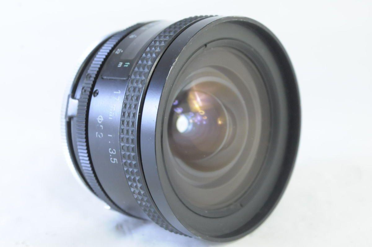 TAMRON SP 17mm F3.5+アダプトール Kマウント★希少な最初期シリアルナンバー0000608★AK717_画像1