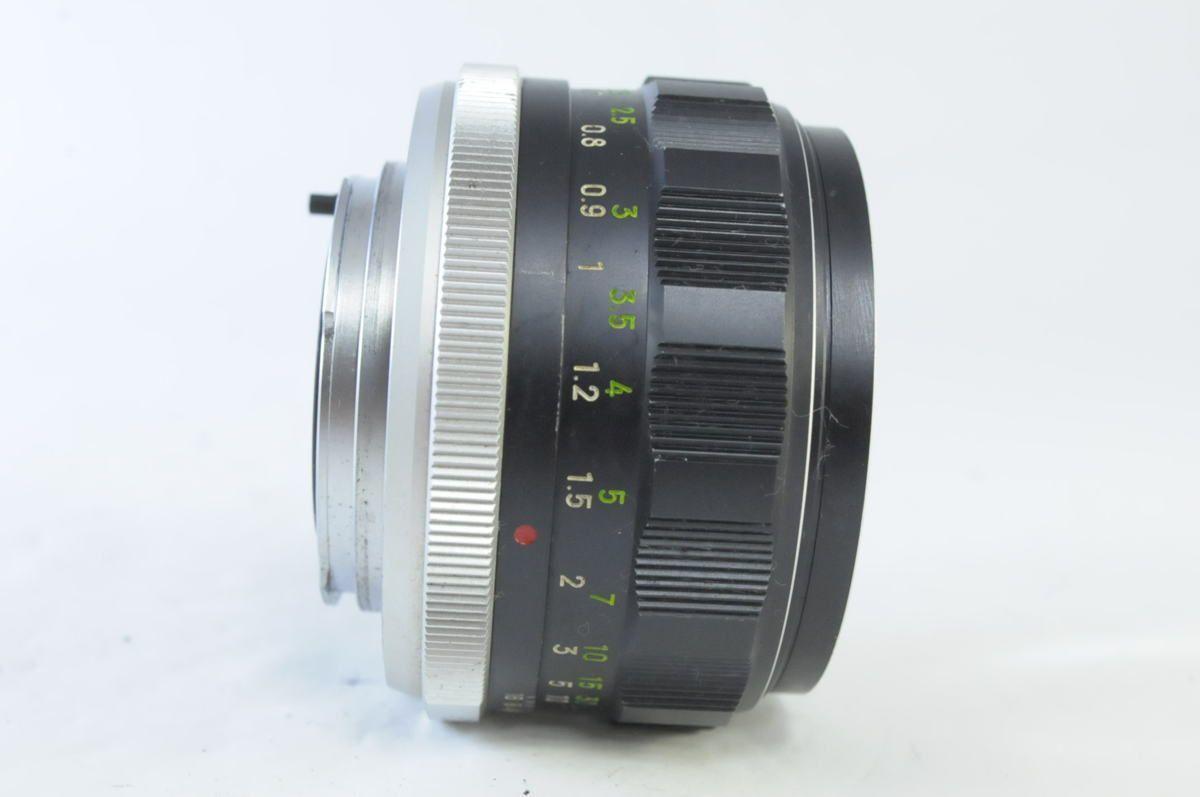 銘玉★ミノルタ MINOLTA MC ROKKOR-PF 58mm F1.4★くもり・カビ跡★4125_画像2