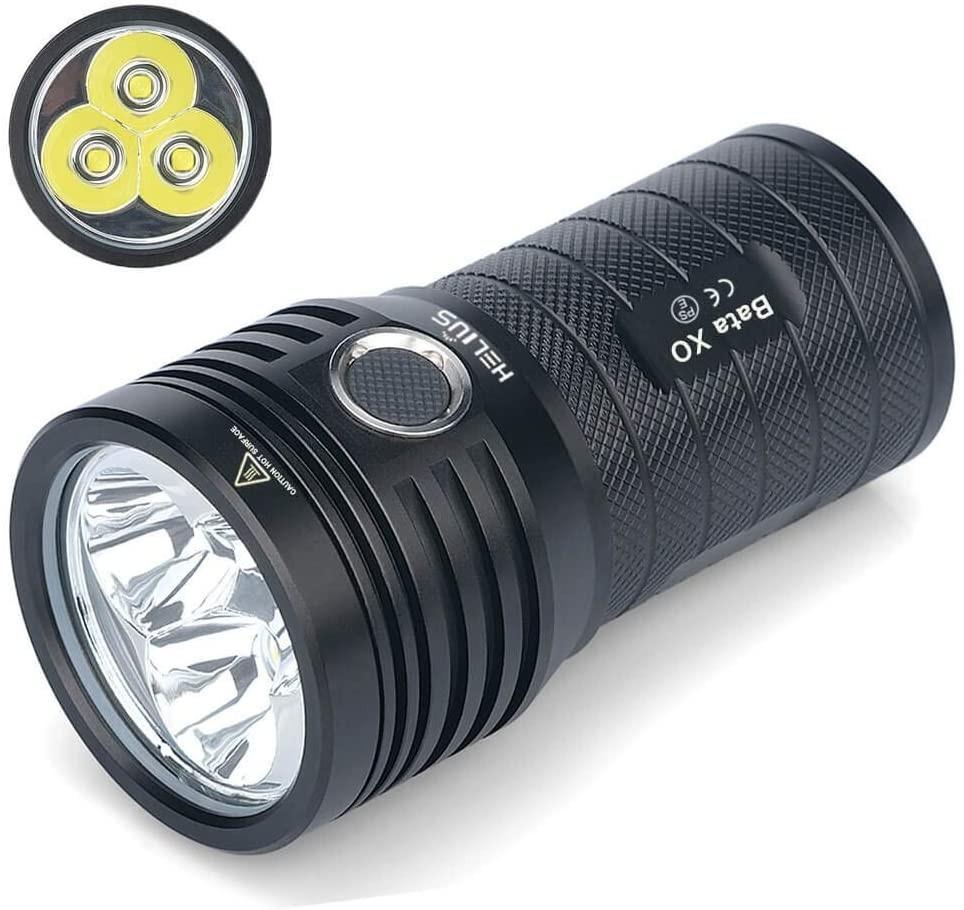 LED 懐中電灯 強力 軍用 最強 小型USB充電式 超高輝度10000ルーメン