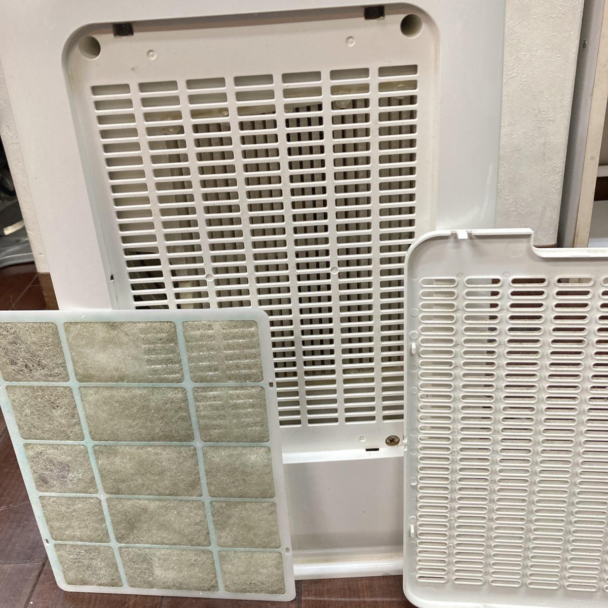 日立 衣類乾燥除湿機 デシカント方式 除湿量5.6L ~14畳 HJS-D562 2017年製 動作品 簡易清掃のみ f001 7210_画像5