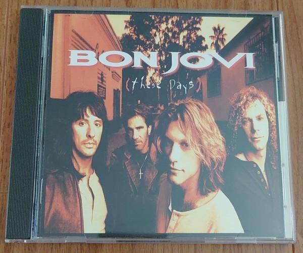 CD『ジーズ・デイズ / ボン・ジョヴィ』「These Days / Bon Jovi」帯あり