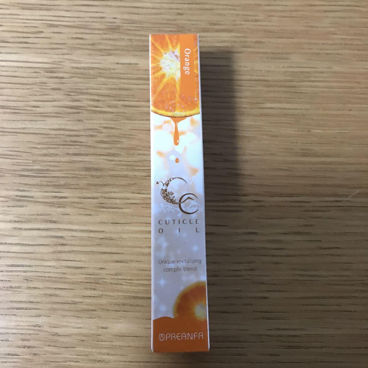 【未使用】プリジェルCCキューティクルオイルa オレンジ(爪用化粧品)