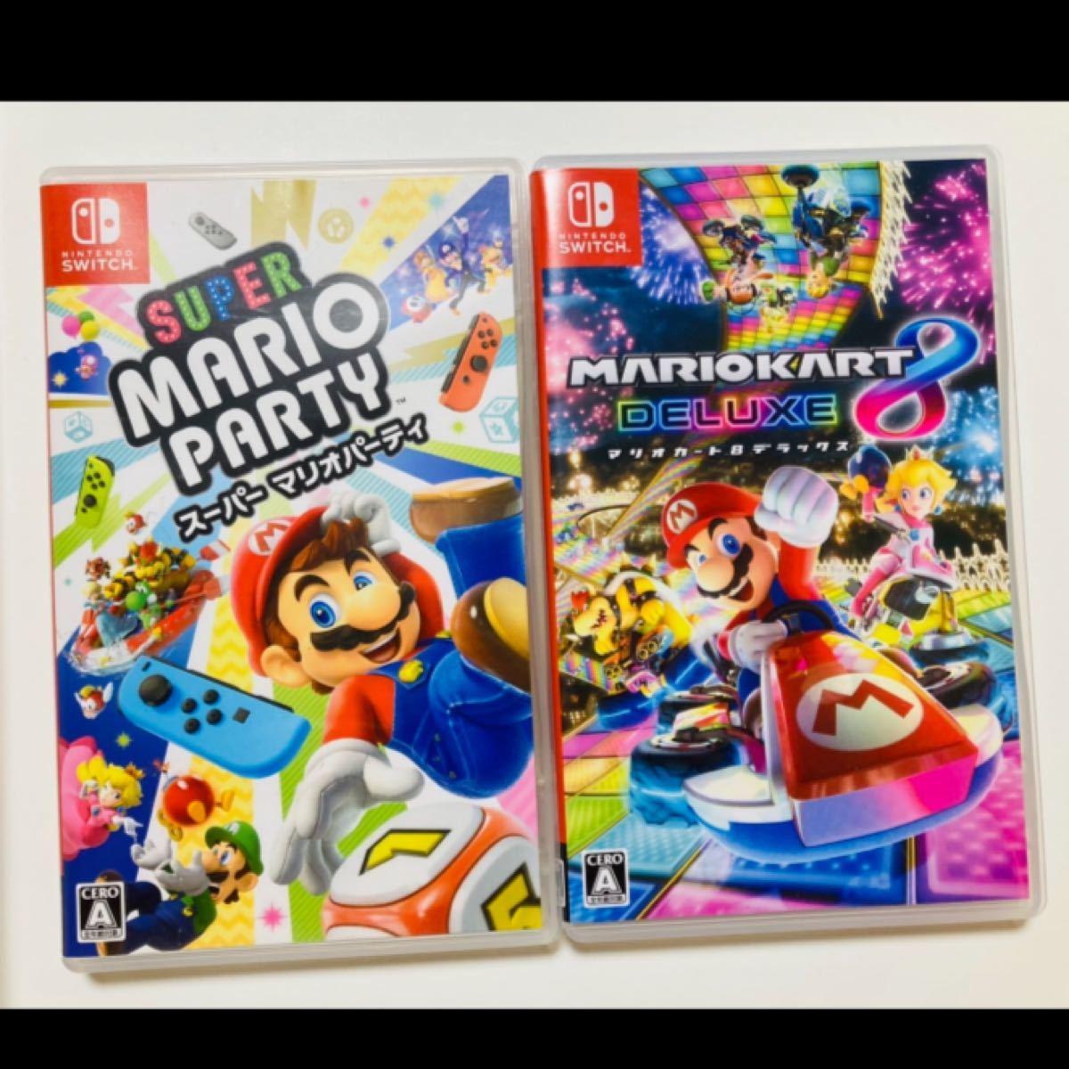 マリオカート8デラックス Switch スーパーマリオパーティ Nintendo Switch ニンテンドースイッチ
