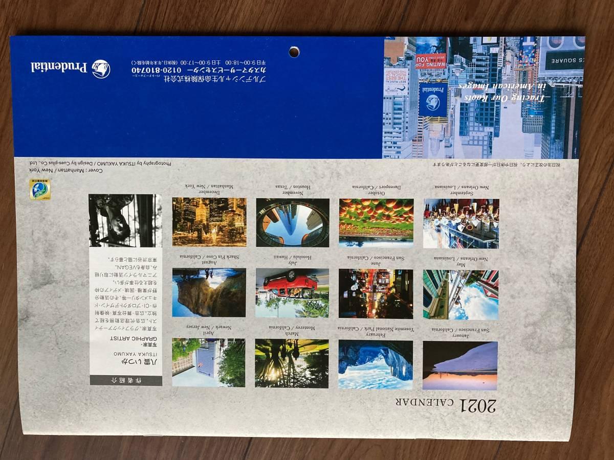 【カレンダー①】プルデンシャル生命■2021壁掛けカレンダー■未使用■世界の風景写真■写真家八雲いつか_画像6