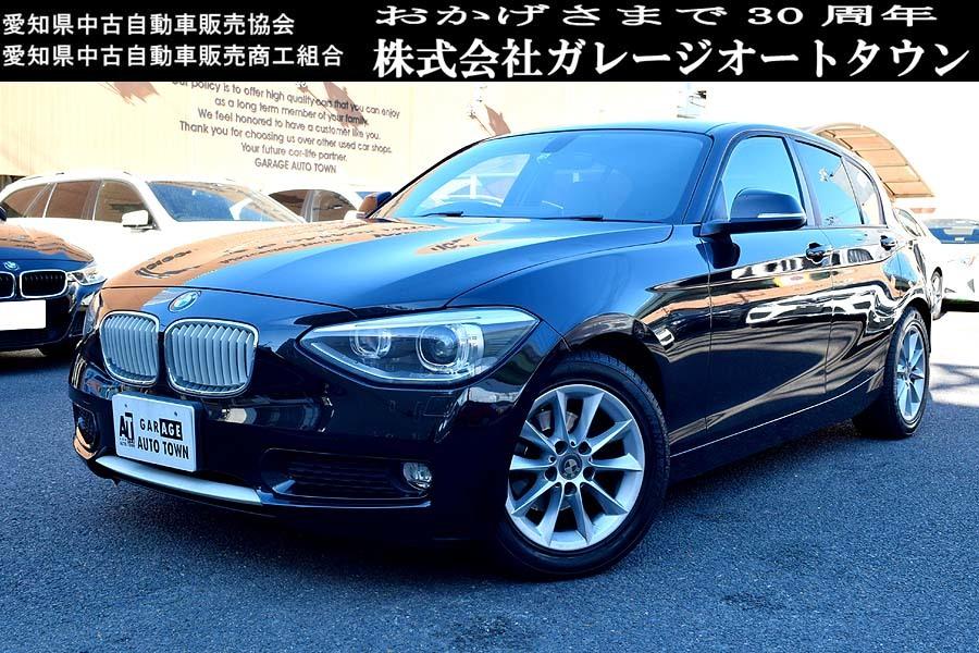 人気カラー ブラックサファイア BMW116iスタイル ディーラー記録多数有 出品中の現車確認可能【全車輌消毒消臭済】_お問合せ・即決等 090-1565-6999 迄
