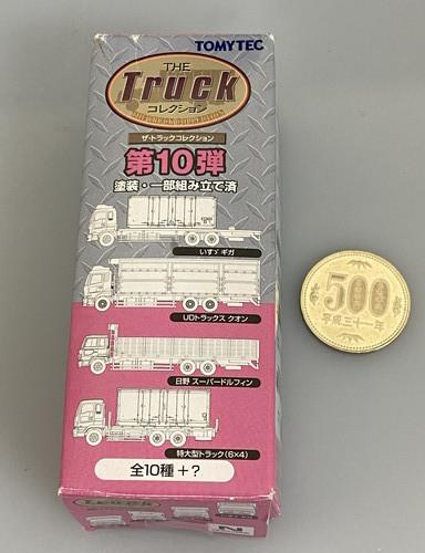 ◎ザ・トラックコレクション 第10弾 UDトラックス クオン 木材チップ運搬車 トミーテック Nゲージ_画像2