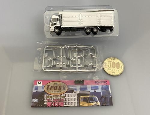 ◎ザ・トラックコレクション 第10弾 UDトラックス クオン 木材チップ運搬車 トミーテック Nゲージ_画像1
