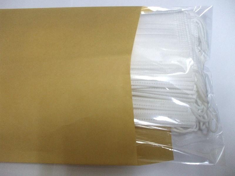 msk30p40C【送料無料】子供用 不織布使い捨て衛生マスク40枚・プリーツ 三層フィルター採用 ・ノーズワイヤー入り こども用サイズ ウィル_画像5