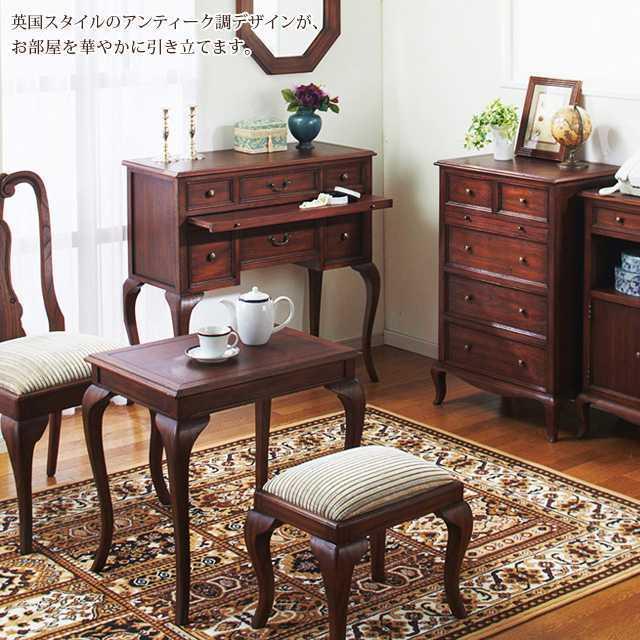 ウェール コーヒーテーブル ブラウン アンティーク 高級感 木目 デスク 送料無料_画像4