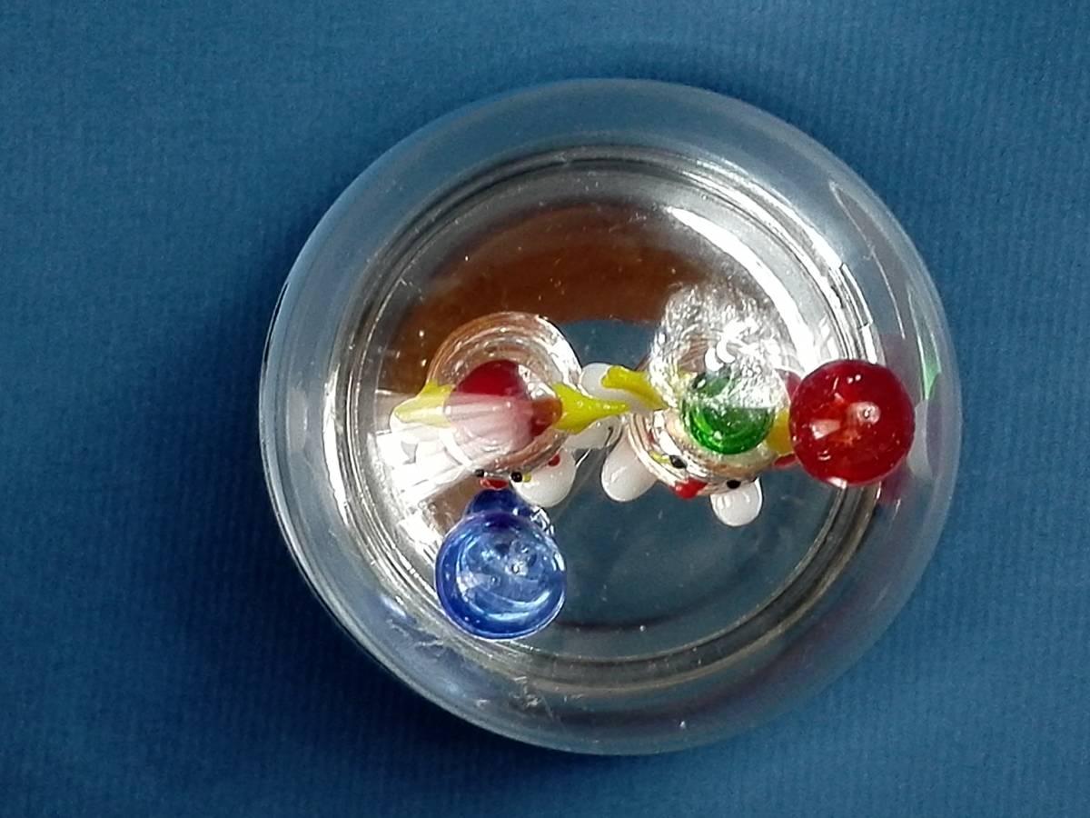 アンティーク ピエロ ガラス細工 オルゴール  アンチェインドメロディー 曲名ゴーストのテーマ_画像8