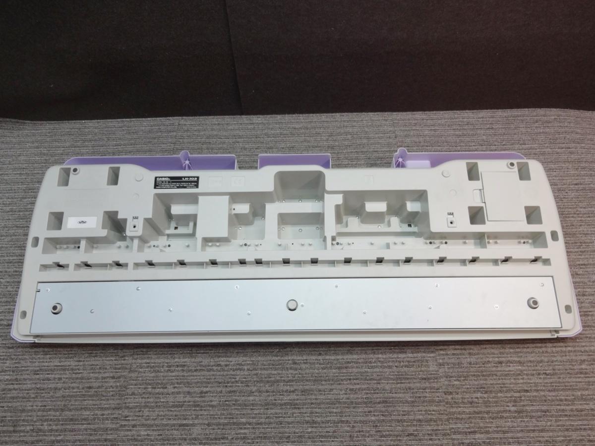 ●き1-108 CASIO カシオ LK-103 光ナビゲーション キーボード_画像8