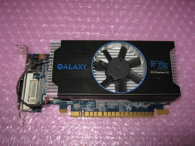 玄人志向 GF-GT740-LE1GHD/OC (GeForce GT740) 1G GDDR5 ★ロープロファイル専用★_画像1