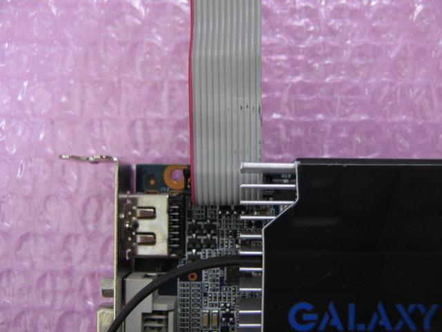 玄人志向 GF-GT740-LE1GHD/OC (GeForce GT740) 1G GDDR5 ★ロープロファイル専用★_画像4