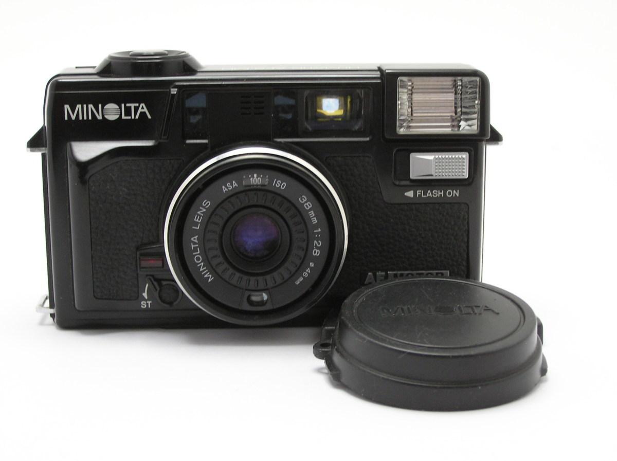 ★ハローカメラ★ 7073 MINOLTA HI-MATIC AF2-MD /38mm F2.8 動作品 1円スタート