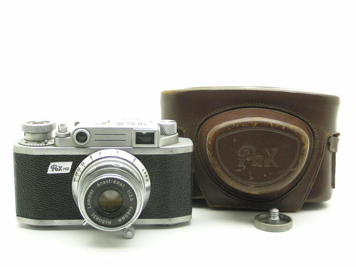 ★ハローカメラ★ 7079 Pax M2 ( Luminor 45mm F3.5 ) 正常作動せず 部品取りジャンク 1円スタート