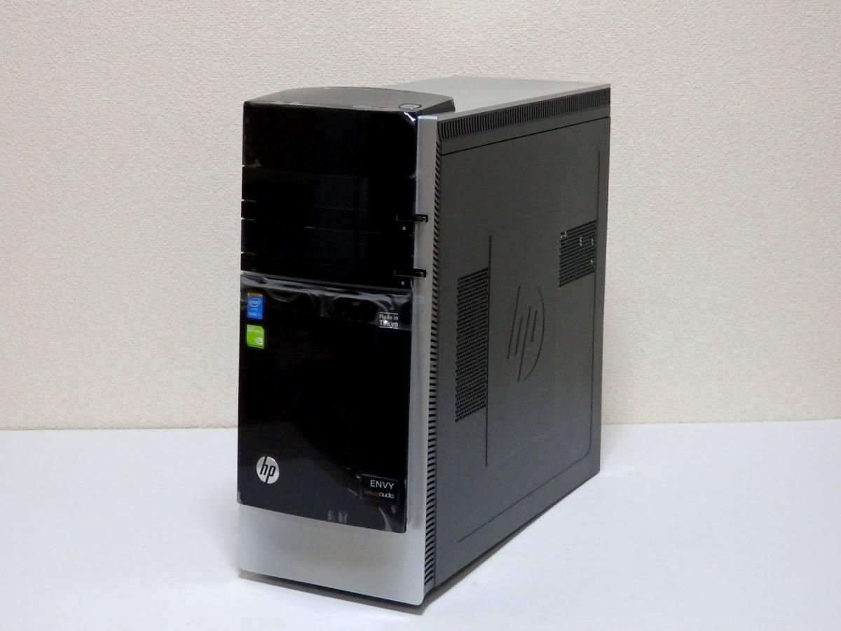 【未使用品】ハイスペ☆高速Core i7-4790 4GHz×8/新品SSD1TB+HDD2TB/16GBメモリ/Win10/GeForce GTX 980/USB3.0/Office2019/ENVY 700-570jp_未使用品なのでピカピカです。