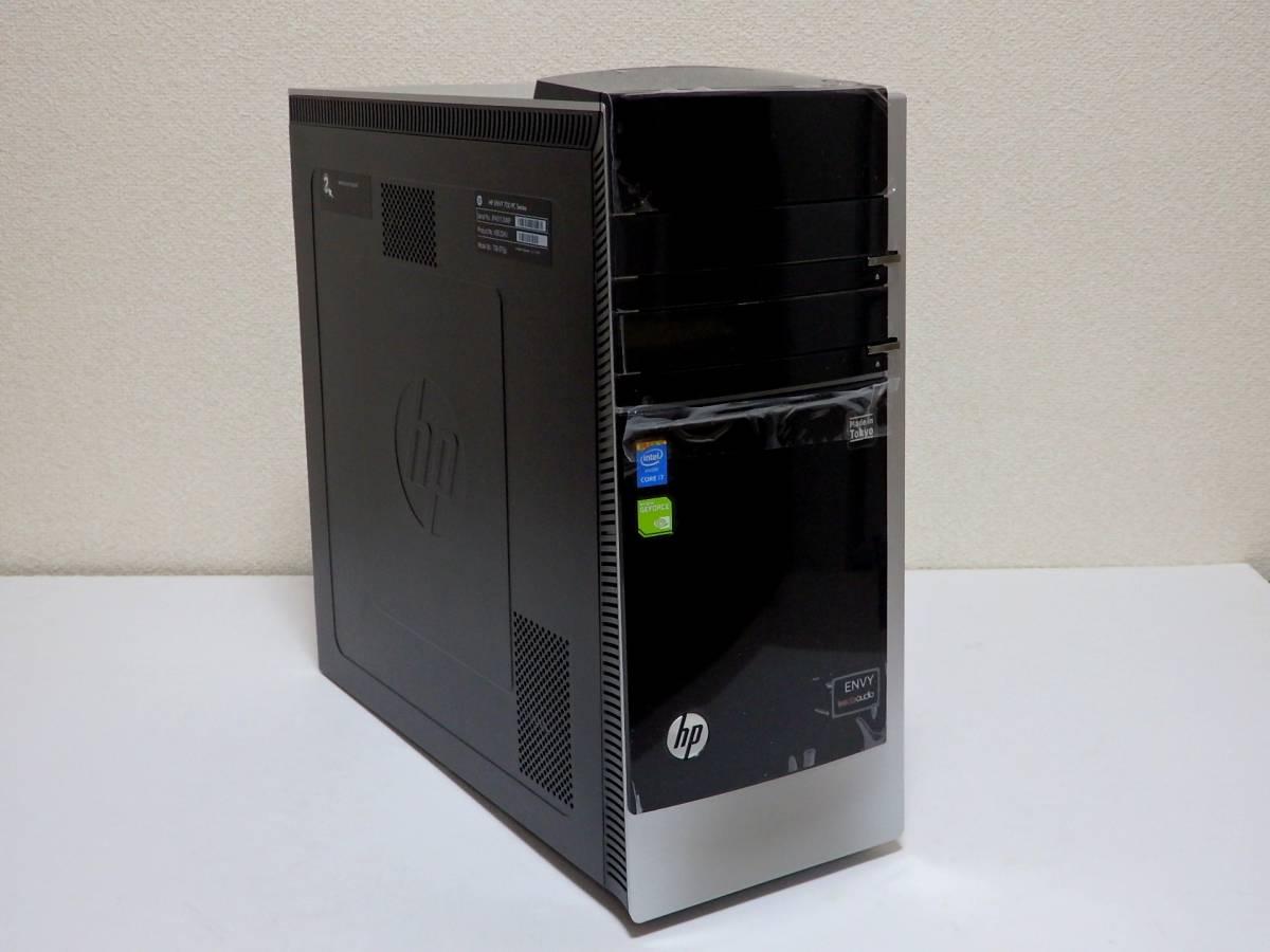 【未使用品】ハイスペ☆高速Core i7-4790 4GHz×8/新品SSD1TB+HDD2TB/16GBメモリ/Win10/GeForce GTX 980/USB3.0/Office2019/ENVY 700-570jp_工場出荷時の保護フィルムも張られてます。