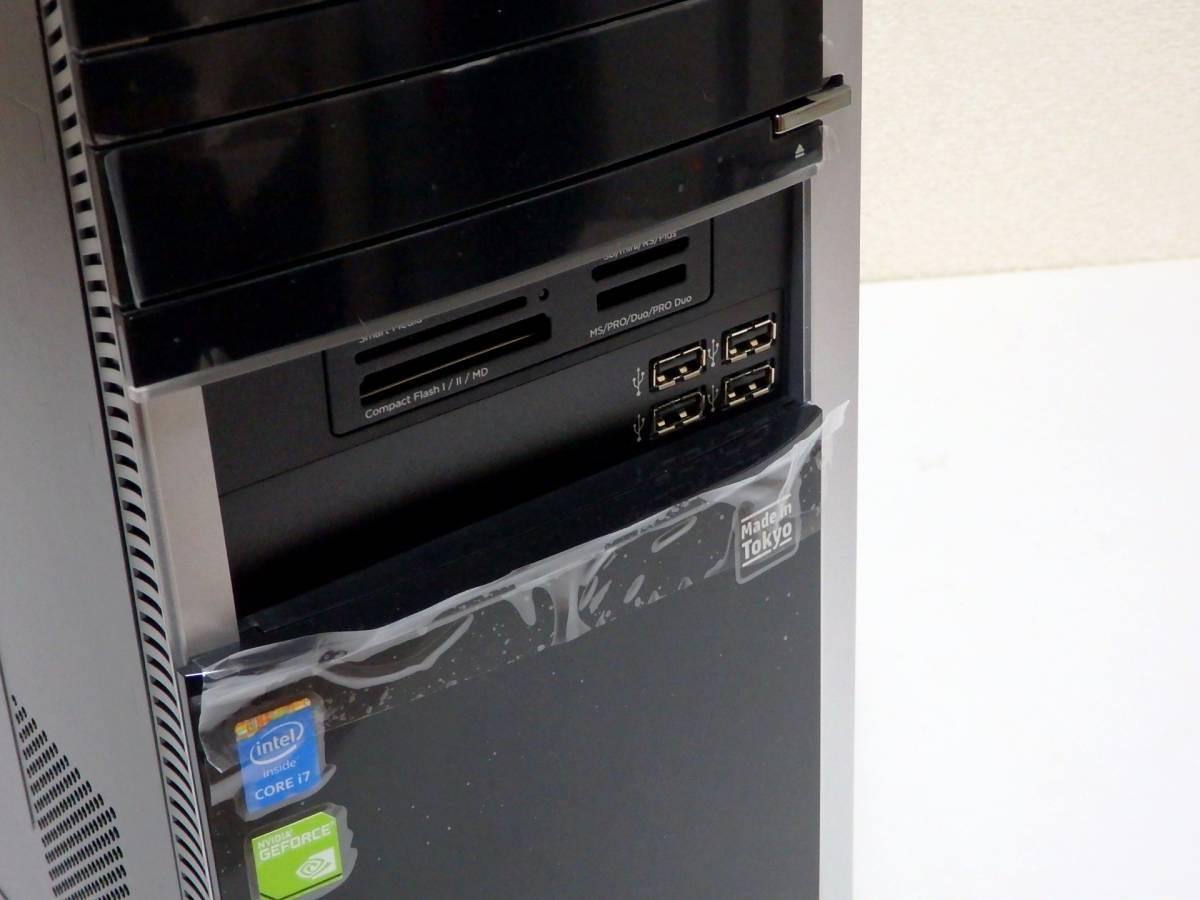 【未使用品】ハイスペ☆高速Core i7-4790 4GHz×8/新品SSD1TB+HDD2TB/16GBメモリ/Win10/GeForce GTX 980/USB3.0/Office2019/ENVY 700-570jp_SDメモリーカードスロットも搭載しています