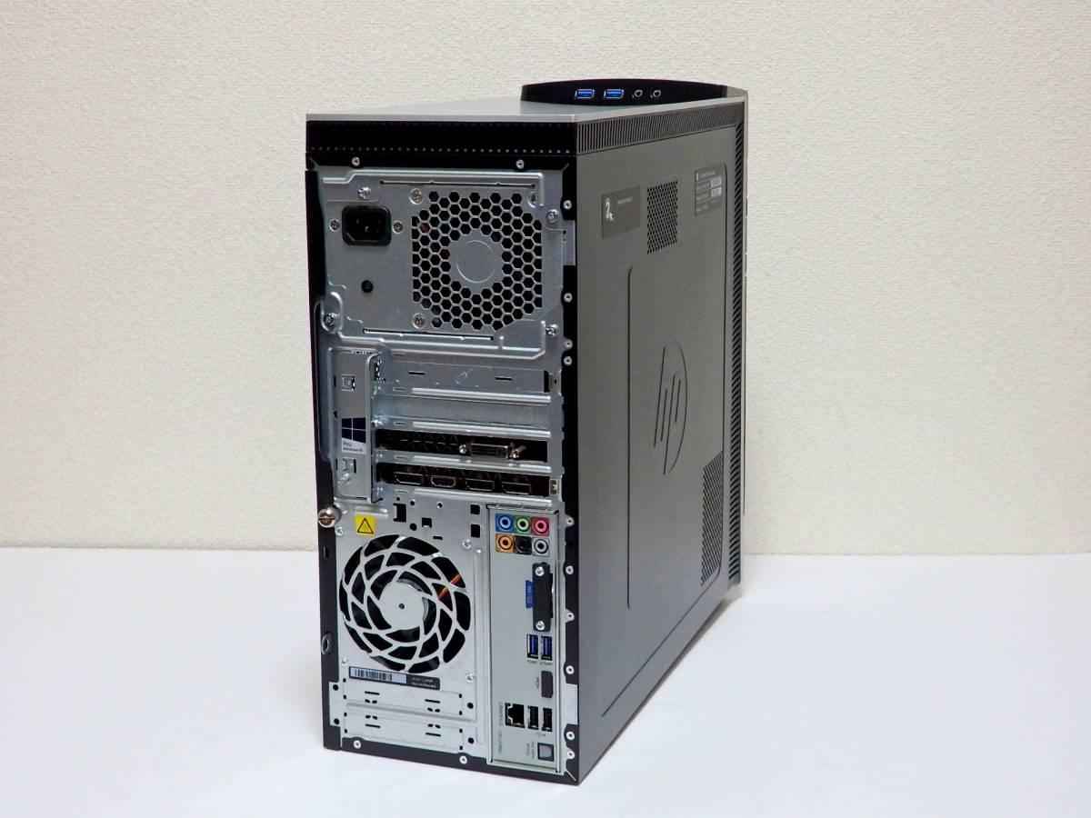 【未使用品】ハイスペ☆高速Core i7-4790 4GHz×8/新品SSD1TB+HDD2TB/16GBメモリ/Win10/GeForce GTX 980/USB3.0/Office2019/ENVY 700-570jp_現行のGTX 1060と同性能GTX 980を搭載