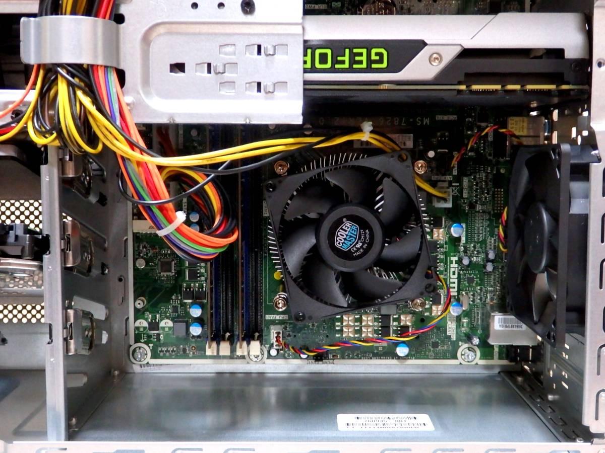 【未使用品】ハイスペ☆高速Core i7-4790 4GHz×8/新品SSD1TB+HDD2TB/16GBメモリ/Win10/GeForce GTX 980/USB3.0/Office2019/ENVY 700-570jp_未使用品なので内部も埃など一切ありません