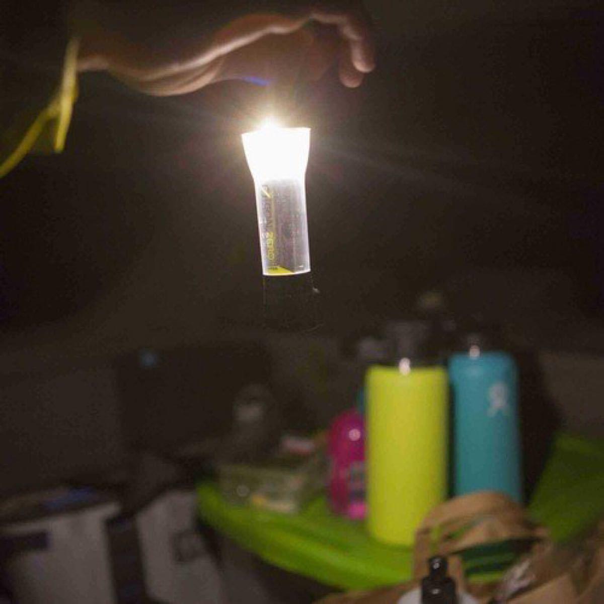 価格相談可能【新品未使用・2個セット・送料無料】ゴールゼロ ライトハウス マイクロ チャージ USB充電式LED