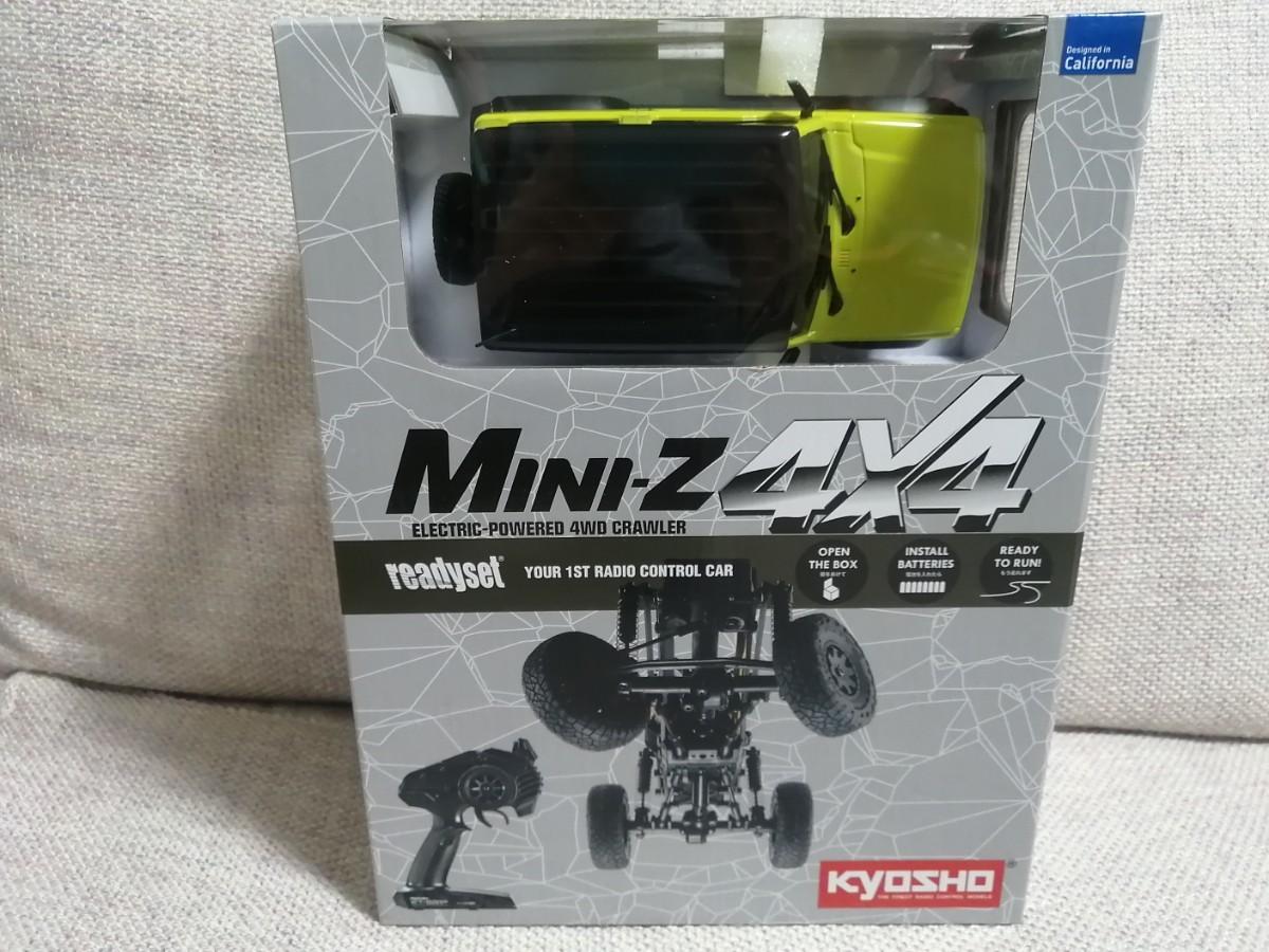 【新品未開封】京商 Mini-z ミニッツ 4×4 ジムニーシエラ キネティックイエロー