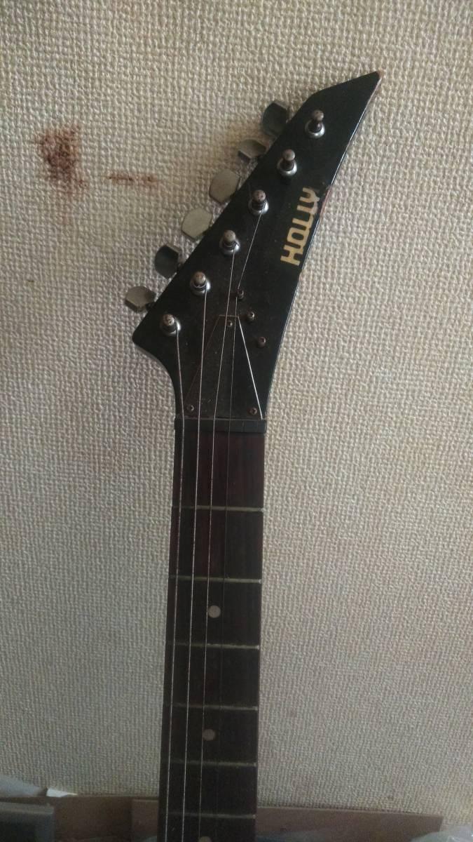 ★HOLL★エレキギター(ブラック)!_画像3