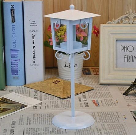 鉄 ガラス キャンドル ホルダー クラシック ブラック ホワイト ティー ライトスタンド ホーム テーブル ランタン 装飾_画像4