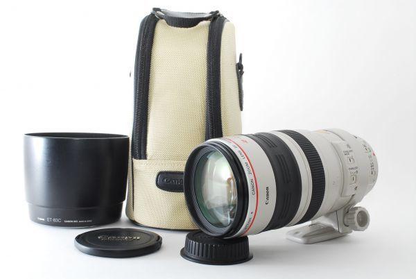 ★☆美品 キャノン Canon ZOOM EF 100-400mm F4.5-5.6 L IS USM#2162☆★