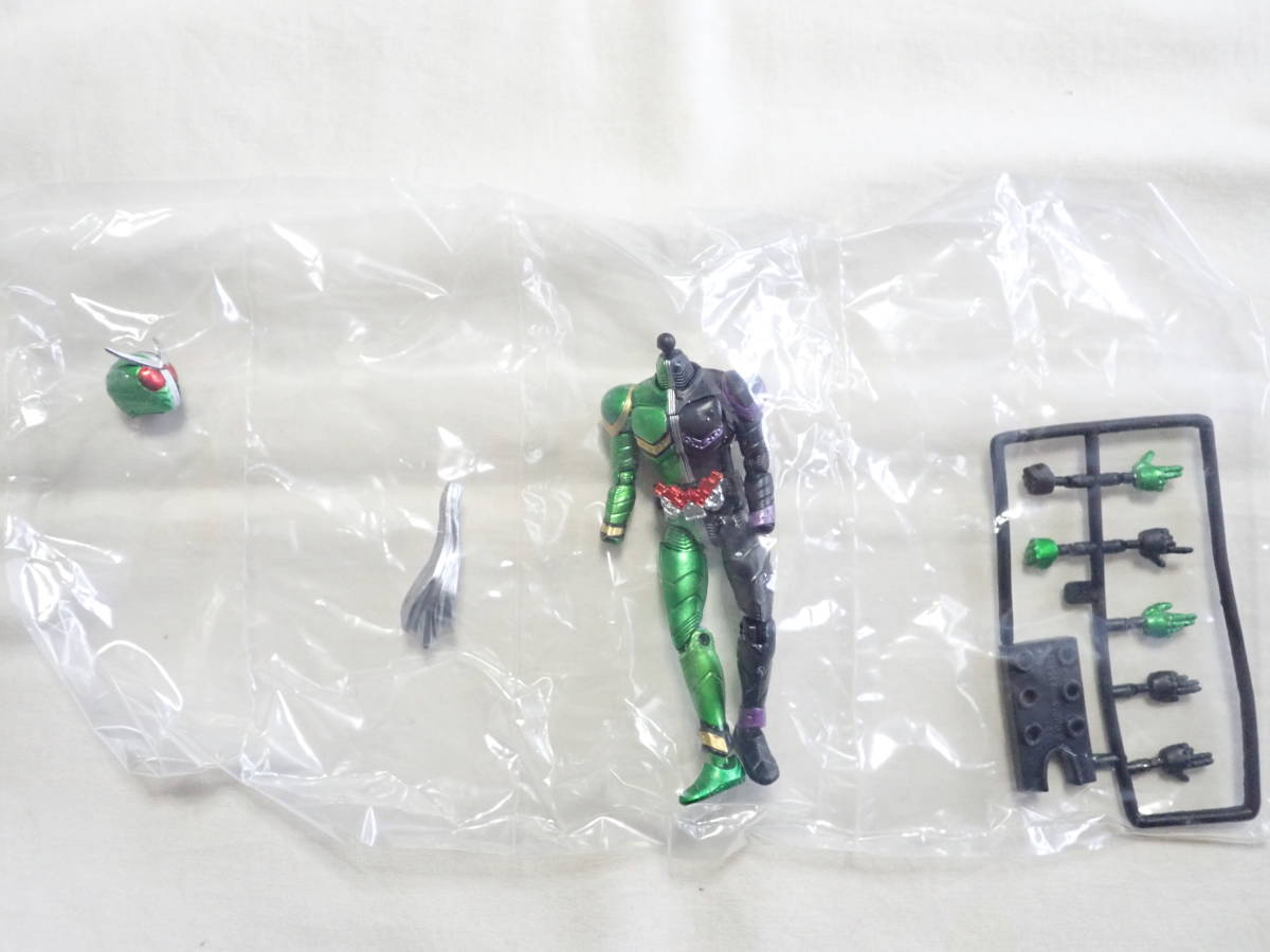 【新品・送料140円】SHODO仮面ライダーVS6 5.仮面ライダーW サイクロンジョーカー_画像3