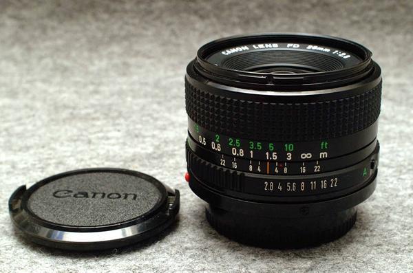 Canon キャノン 純正 FD 28mm 単焦点高級ワイドレンズ 1:2.8 希少・良好品