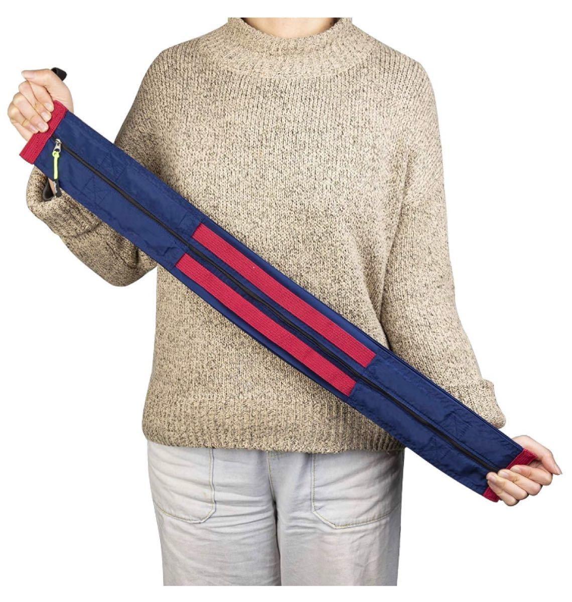 大容量 エコバッグ 折りたたみ買い物袋 ジッパー付き トートバッグ ネイビー