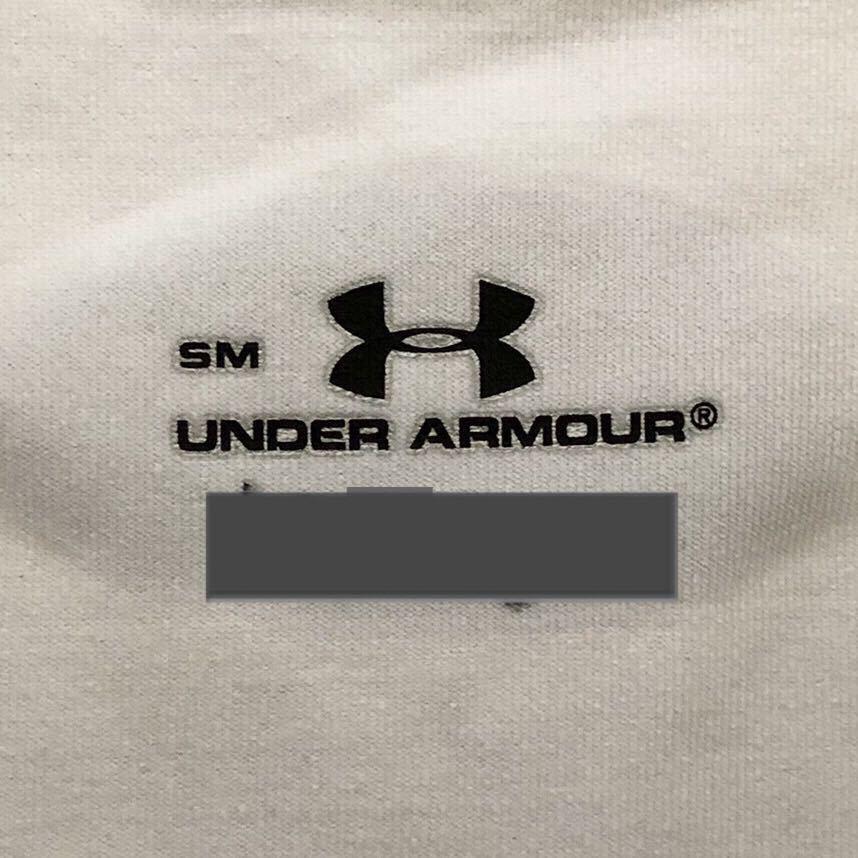 アンダーアーマー アンダーウェア 長袖 メンズ UAヒートギア SM Vネック② 白 ホワイト インナーシャツ