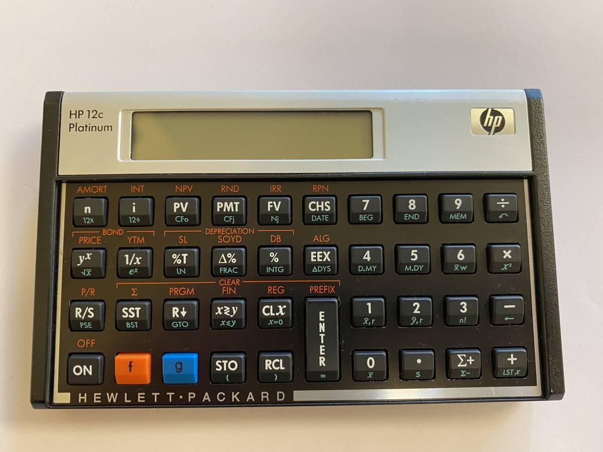 hp 17bⅡ hp 12c Platinum CASIO fx-993EX 金融電卓 まとめ売り _画像4