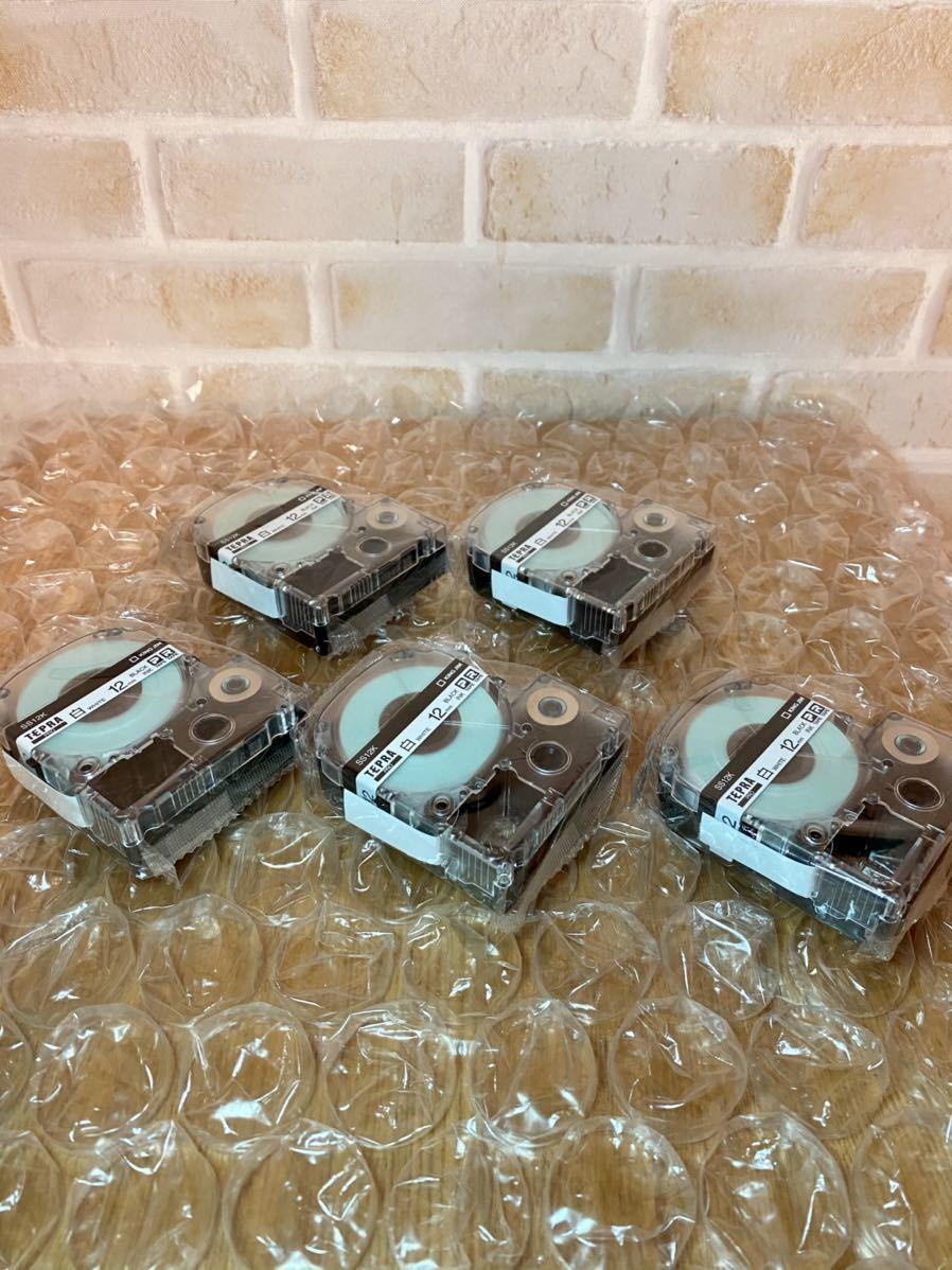 【未使用】キングジム テープカートリッジ テプラPRO 12mm 5個 SS12K-5P 白_画像2