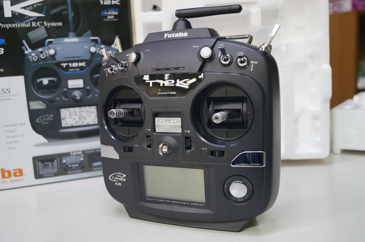 Futaba 12K T-FHSS 飛行機用 送信機のみ  送料込み_画像1