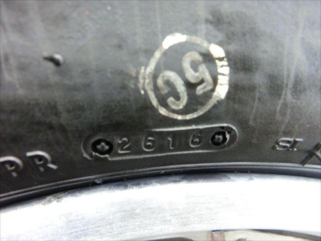 B1-1218 ホンダ CBX125F フロントホイール タイヤ 【JC11-110~】_画像5