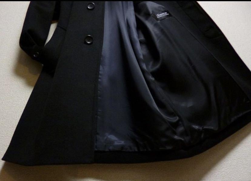 極美品 18万! 圧倒的☆PIERRE BALMAIN☆完全最高級ピュアカシミヤ100%コート! 圧倒的高級感! 超極上! 圧倒的美しさ! 別格段違い バルマン_画像5