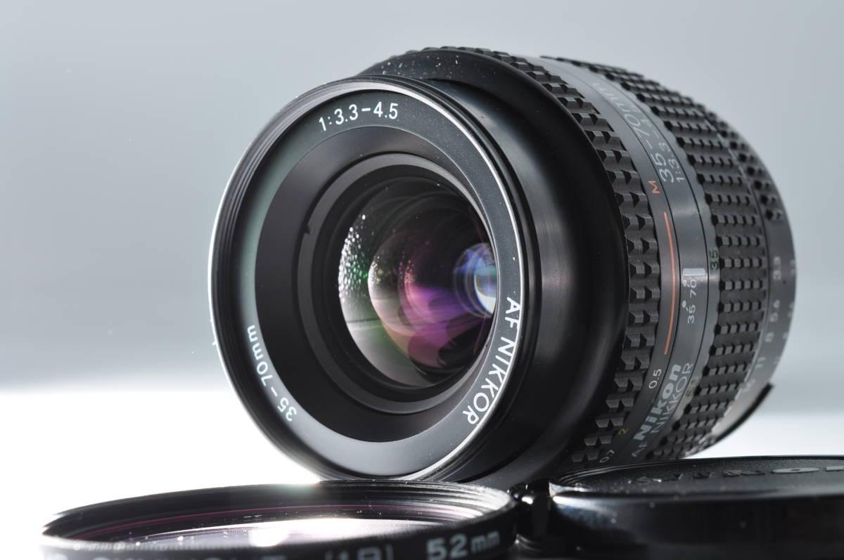 売切り NIKON ニコン AF NIKKOR 35-70mm F/3.3-4.5 オートフォーカス 一眼レフ レンズ ジャンク扱い_画像1