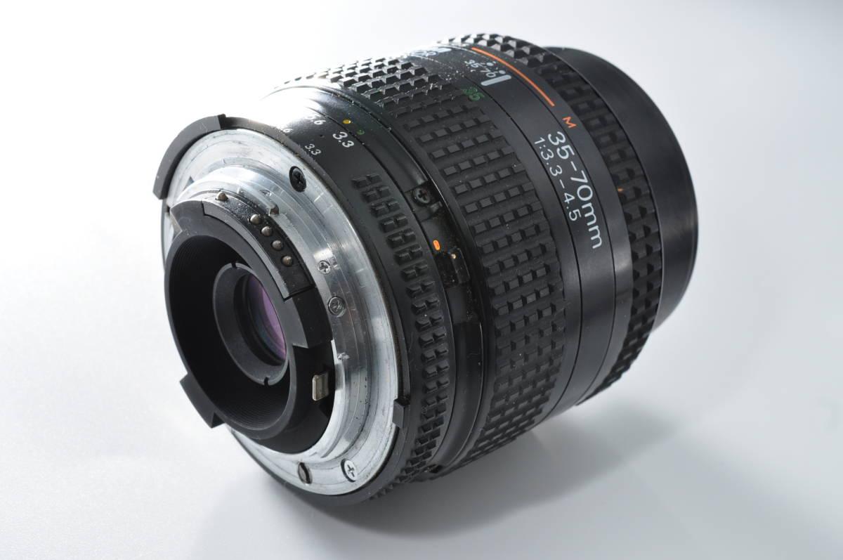 売切り NIKON ニコン AF NIKKOR 35-70mm F/3.3-4.5 オートフォーカス 一眼レフ レンズ ジャンク扱い_画像2