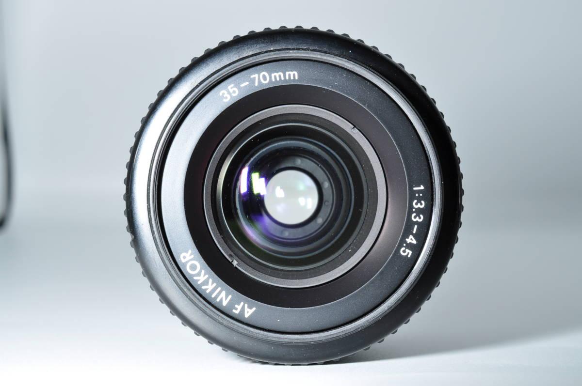 売切り NIKON ニコン AF NIKKOR 35-70mm F/3.3-4.5 オートフォーカス 一眼レフ レンズ ジャンク扱い_画像7