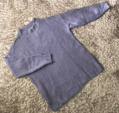 ◆◇◆koe/コエ◆◇◆ふんわり柔らか♪サイドスリットハイネックセーター♪サイズフリー◆◇◆美品_画像1