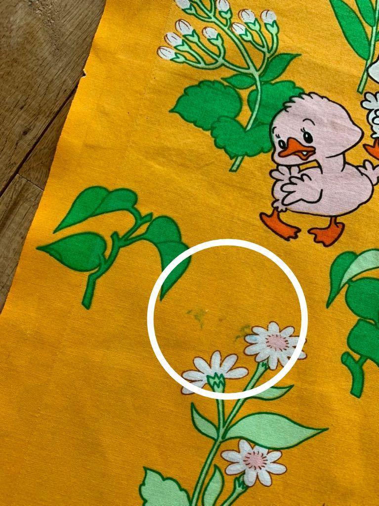 柄 昭和レトロ アンティーク デットストック はぎれ 生地 リメイク 雑貨 コレクター ハンドメイド 手作り 布 ファンシー ノスタルジック